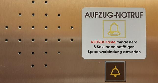 24h Notrufsystem von Schaufler Liftservice