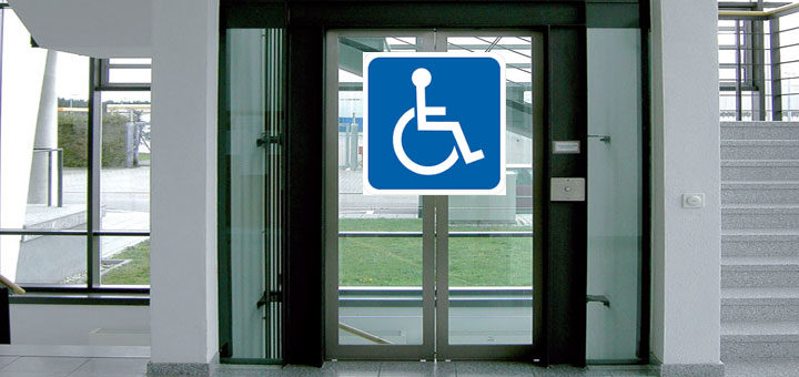 Barrierefrei Behindertengerechter Aufzugr