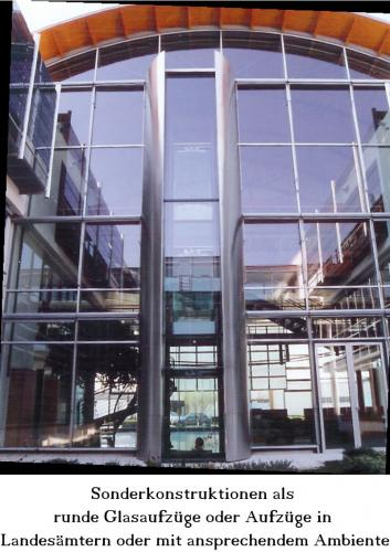 Aufzug Sonderkonstruktion Landesamt